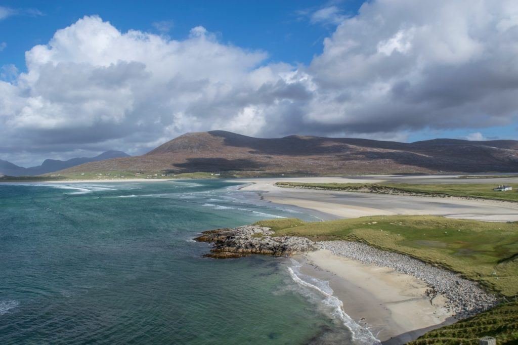 the Best Scenery in Scotland | Picture of a Beautiful Scottish Beach
